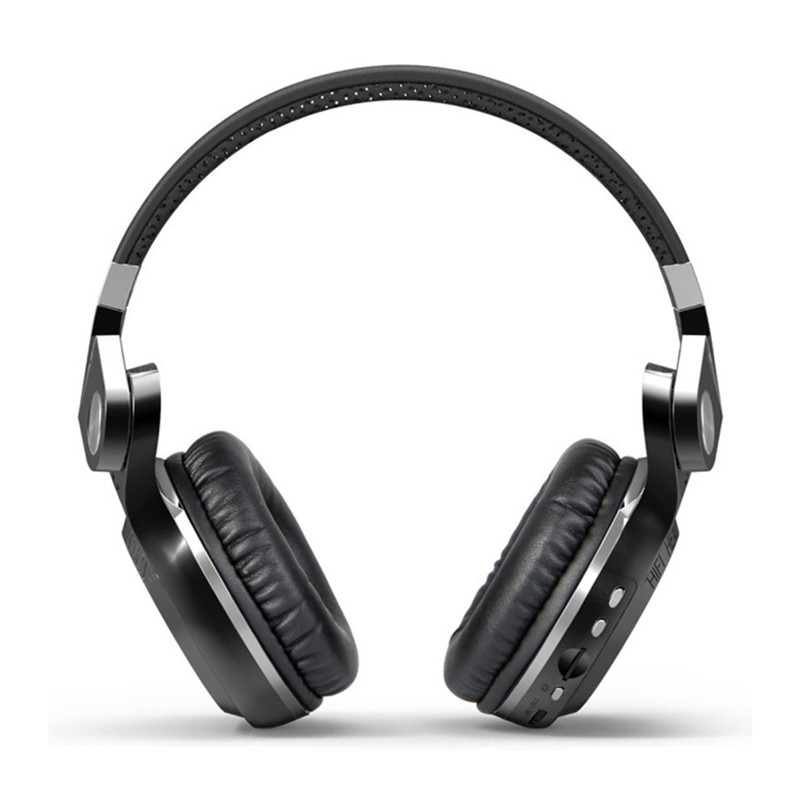 Bluedio T2+ fashionable foldable over the ear bluetooth headphones BT 4.1 support FM radio& SD card functions Music calls (7)