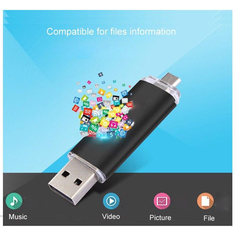 Mini USB Flash Drives 8GB 4GB 16GB 32GB Pendrive 64G OTG Pen Drive 2.0 USB Memory Stick For Android Phone Computer
