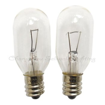 Free Shipping 12v 20w E12 T22x55 Great!miniature Lighting Lamps A306