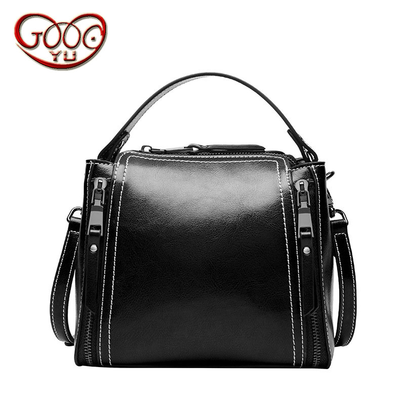 New two-story leather cowhide mini motorcycle bag vertical paragraph Messenger hand-shoulder leather bagNew two-story leather cowhide mini motorcycle bag vertical paragraph Messenger hand-shoulder leather bag