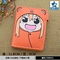 Doma Umaru Button Purse of Anime Himouto! Umaru-chan Short PU Wallet