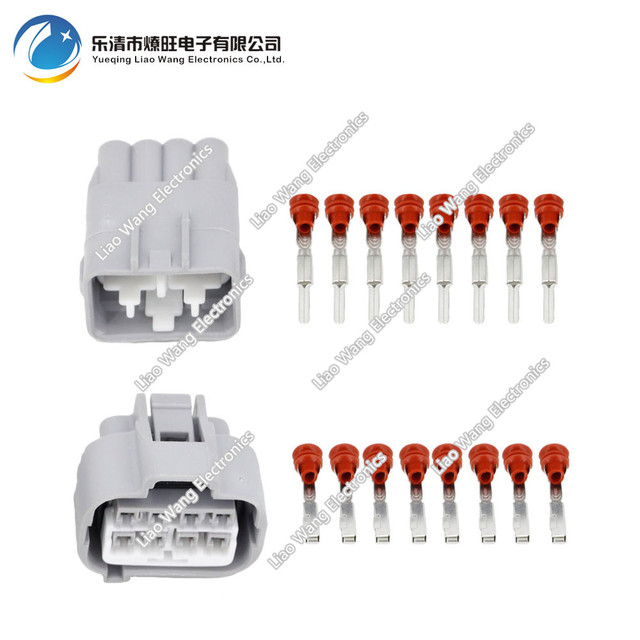 Awe Inspiring 8 Pin Automotive Connectors Gray Terminal Blocks Dj7081F 2 2 11 21 Wiring Digital Resources Anistprontobusorg