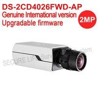 DS 2CD4026FWD AP English Version 2MP Ultra Low Light Smart Cctv Ip Camera POE Auto Back
