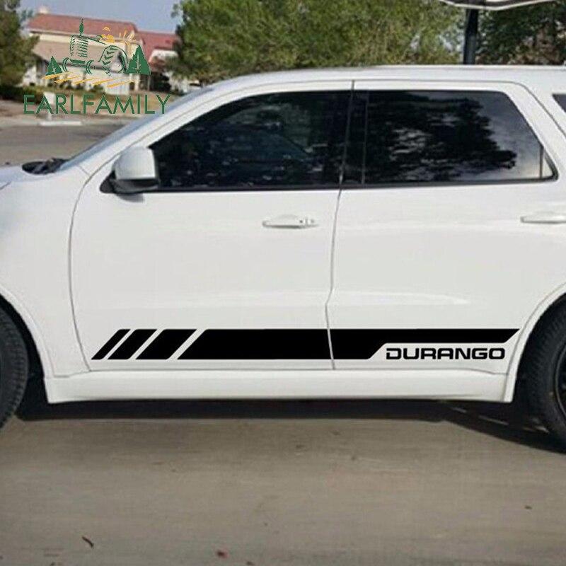 Side Door Stripes Decal Vinyl Kit for Dodge Durango 2010-2017 RT GT Sport Light