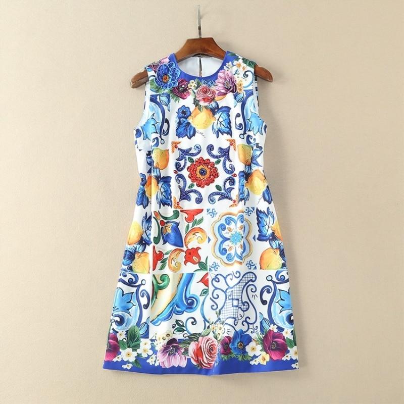 यूरोप फैशन रनवे ड्रेस - महिलाओं के कपड़े