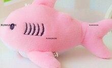 Kawaii 12CM , Key chain Gift Shark Plush Stuffed TOY DOLL , Kid's Small Mini Plush Toys