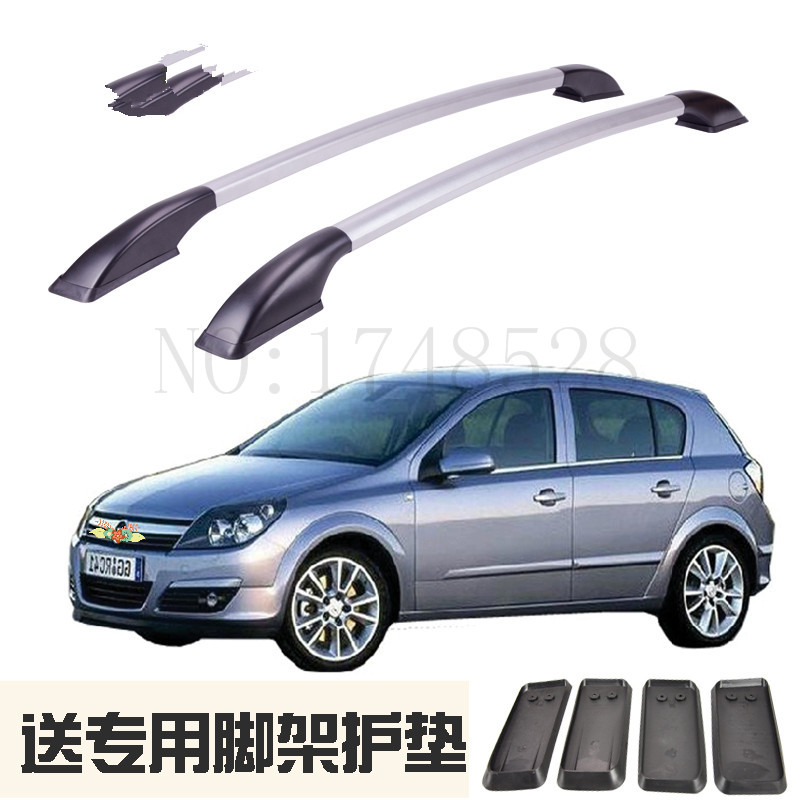 Auto parts Refitting the roof rack of aluminum alloy luggage rack for Opel astra 1.4M Accessories partol black car roof rack cross bars roof luggage carrier cargo boxes bike rack 45kg 100lbs for honda pilot 2013 2014 2015