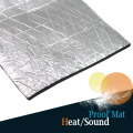 "4"" x 40"" 10 x 100CM Car Aluminum Foil Heat Sound Insulation Proofing Mat Sticker Deadening Noise Control Muffler Pad"