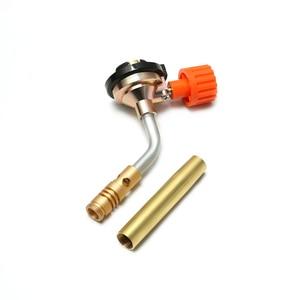 Image 5 - DAYFULI ขายร้อน Flamethrower Burner Butane Gas Blow ไฟฉายมือ IGNITION แคมป์ปิ้ง Welding BBQ เครื่องมือวันหยุดอุปกรณ์เสริมกลางแจ้ง