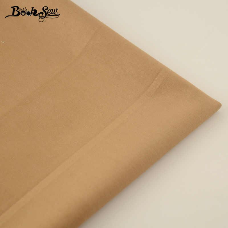 Chegada nova Cor de Café Clássico 100% Tecido de Sarja de Algodão Têxtil de Casa Lençol de Material DIY Patchwork Tecido Quilting Costura