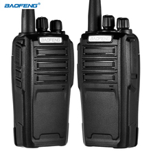 BAOFENG UV-6 Walkie Talkie 10km Two-way Radio 136-174/400-480MHz VHF/UHF Dual Band Dual Handheld Radio Transceiver Interphone
