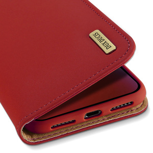 Image 3 - DUX DUCIS حقيقية محفظة جلدية حقيبة لهاتف أي فون XR الفاخرة خمر حقيقي جلدي فليب بطاقة غطاء ل فون Xs ماكس XR iPhoneXr