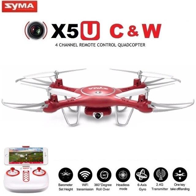 SYMA X5UW & X5UC FPV RC Drone With 720P WiFi 2MP HD Camera 2.4G 4CH 6Axis