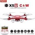 Syma x5uw & x5uc fpv zangão rc com 720 p wifi 2mp hd câmera 2.4G 4CH 6 Axis Quadcopter Dron Helicóptero Altura Segure Uma Tecla de Terra