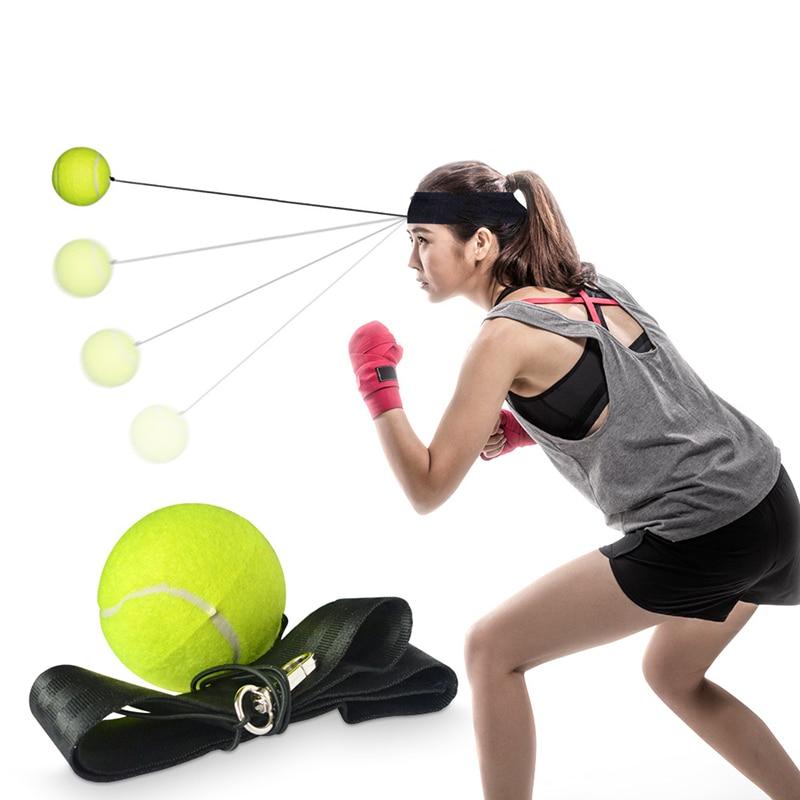 Boxing Ball String Headband Head Band Fighting Punching Speed Balls Punch Muay Thai Sport Exercise Fitness Equipment Cap Hat (7)