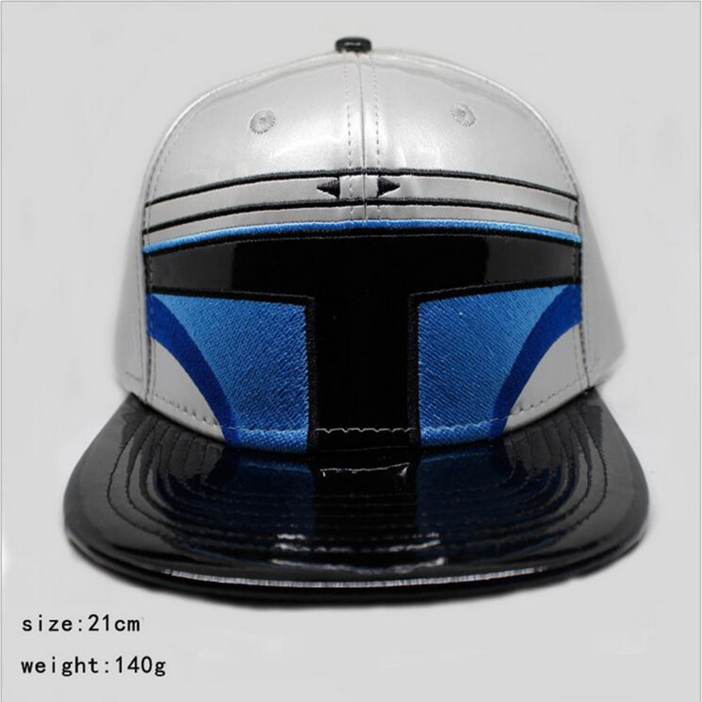 c9989b2c36c New Arrival Star Wars storm troops Cosplay Cap blue black knight ladies  dress Hat charm Costume Props Baseball cap canvas caps-in Baseball Caps  from Men s ...