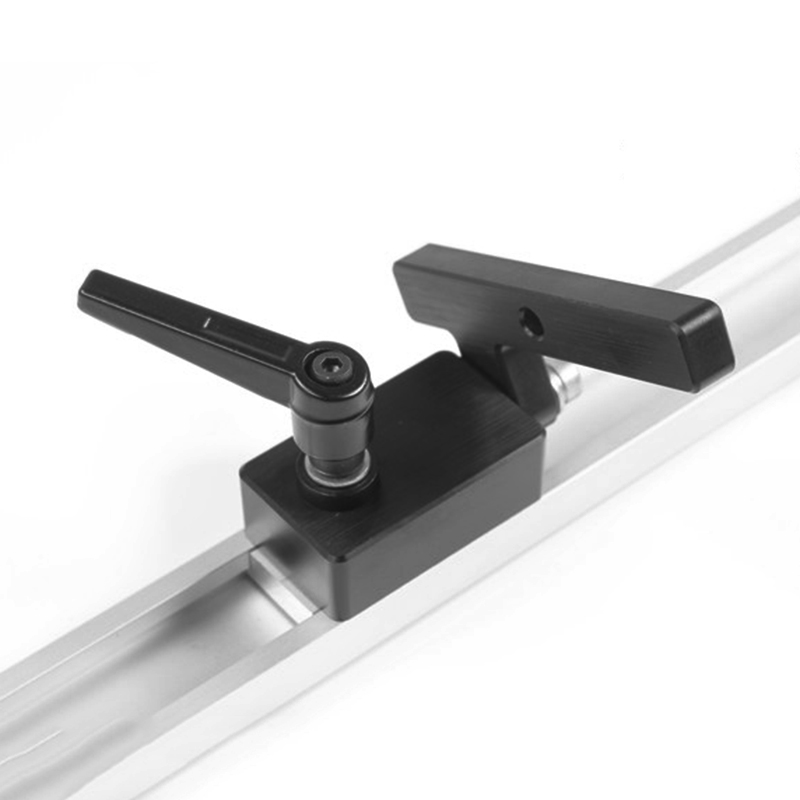 Metal Drillpro Miter Track Stop For T-Slot T-Tracks Wood Working Tool CLH@8