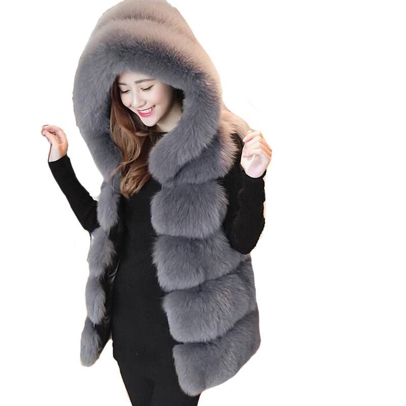 New Winter Women Vest Fur Grass Sleeveless Jackets Size Plus S-XXXXL Female Warm Down