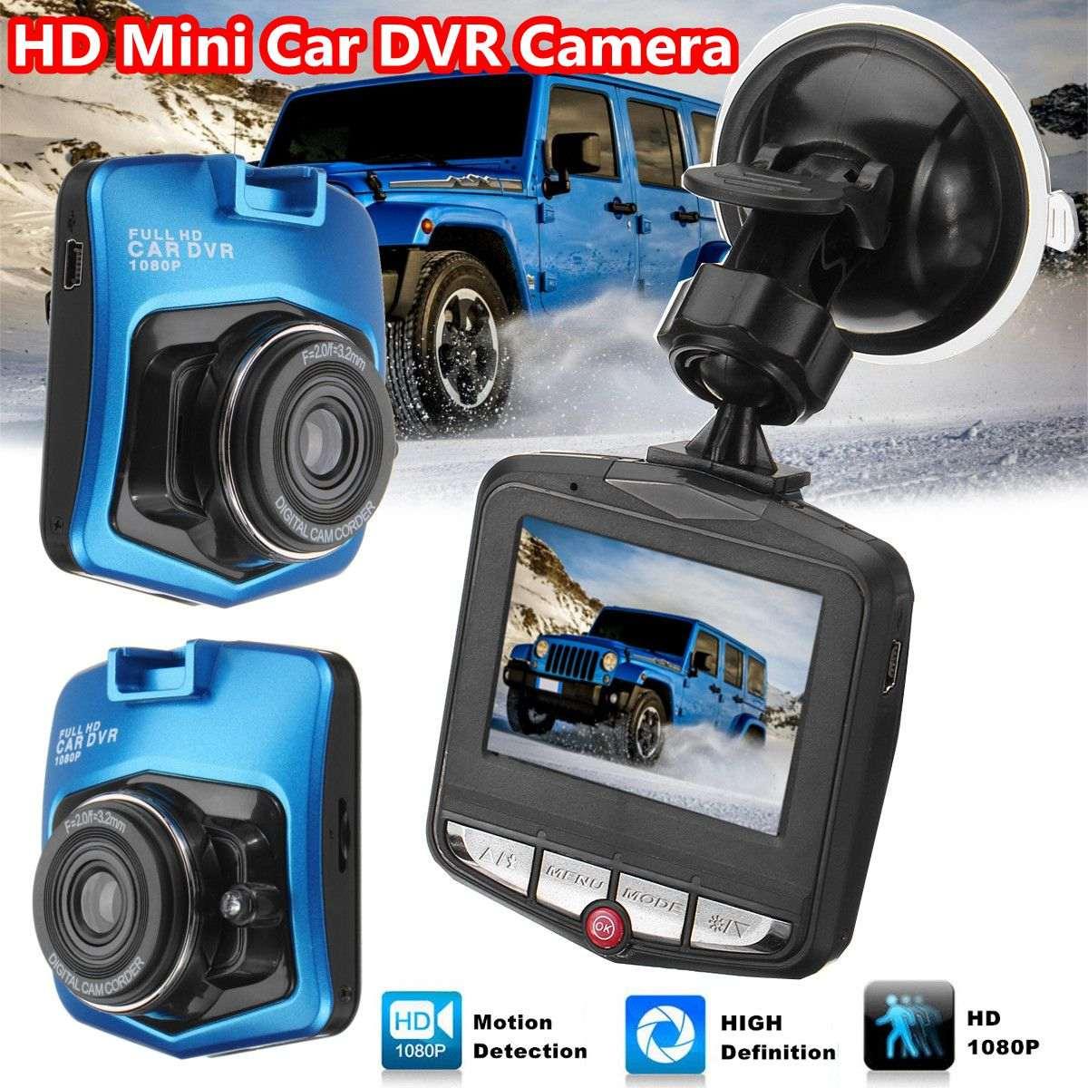 все цены на 2.4 Inch LCD 1080P Full HD Car Camera Dual Lens Dashcam DVR Parking Monitoring Recorder Video Camcorder 170 Degree Wide Angel онлайн
