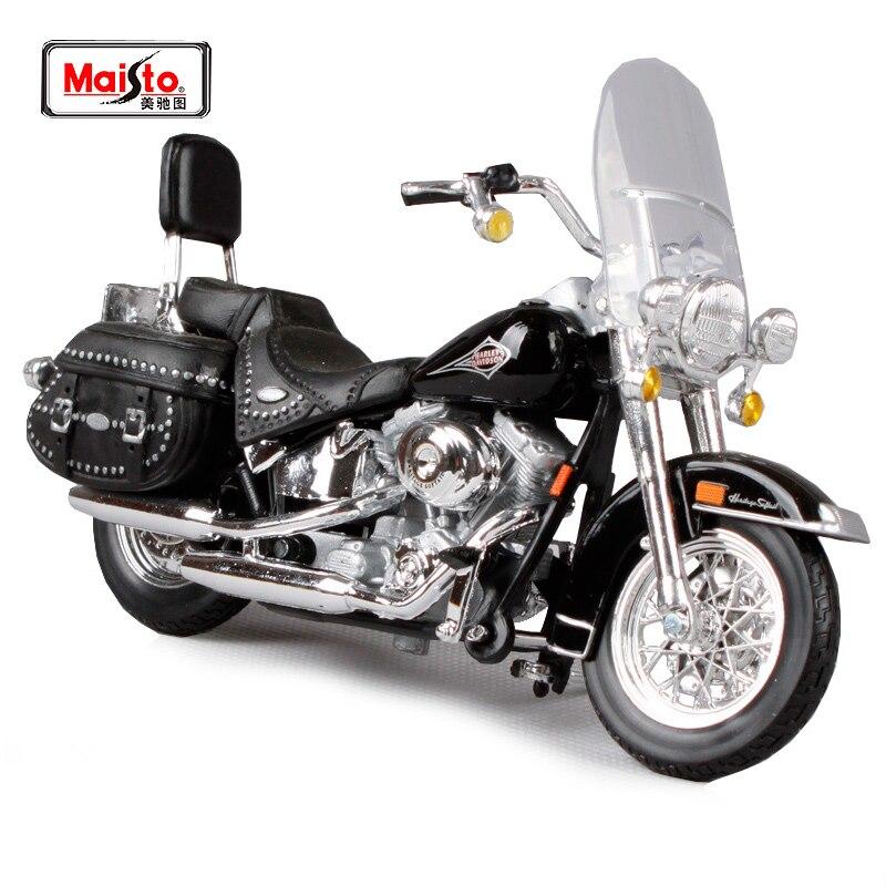 Motorrad Modell 1:18 Harley Davidson 2002 Heritage Softail Classic von Maisto