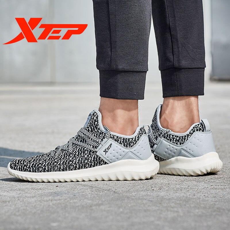 983319119202 XTEP Новый Trail Спорт дышащий воздух подошва мягкие мужские кроссовки 9908 Training кроссовки