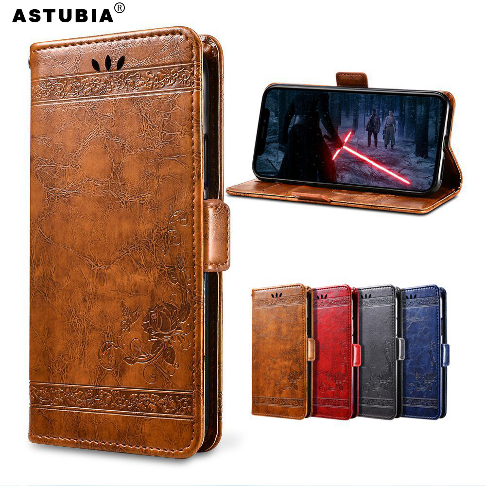 For <font><b>Huawei</b></font> <font><b>Honor</b></font> 10 Lite <font><b>Case</b></font> Vintage Wallet <font><b>Flip</b></font> Leather Cover For <font><b>Honor</b></font> 8X Max Magic 2 <font><b>7S</b></font> 7X 9 Lite 9i V10 V8 V9 Play 8C 6X 6A image