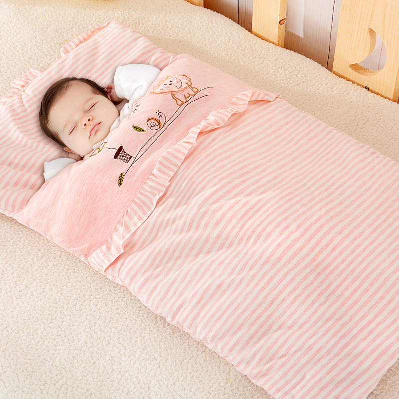 353245bce3 Best buy Baby Thicken Sleeping Bag Newborn Neighbor winter Wrap Sleeping  Bags Carriage Bedding Warm cotton Crystal Sleep Sack online cheap