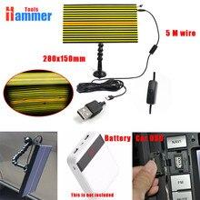 ФОТО usb pdr led light board lamp pdr lamp reflector board pdr dent repair tools
