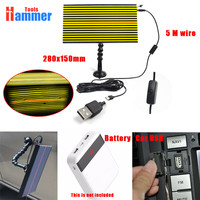 USB PDR KING LED Light board Lamp PDR KING LAMP Reflector Board PDR KING Dent Repair Tools