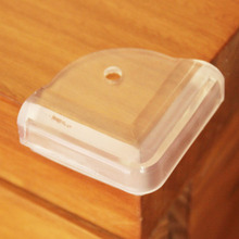10Pcs Children Baby Safety Collision Right Angle Transparent Protective Corner P101