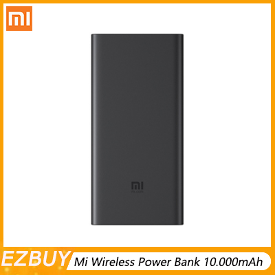 En Stock 2019 nouvelle batterie externe sans fil Xiaomi 10.000mAh 10 W/18 W Portable pour iPhone Samsung Protection des objets étrangers