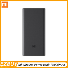 On Stock 2019 New Xiaomi Wireless Power Bank 10.000mAh 10W/18W Portable FOR iPhone Samsung Foreign objects Protection
