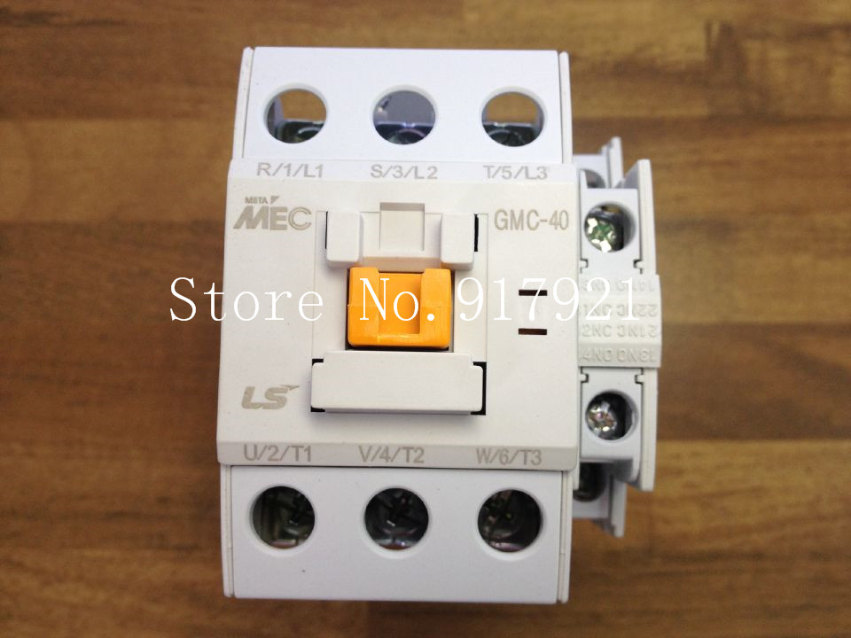 [ZOB] South Korea's original MEC GMC-40 power 220V AC contactor to ensure genuine fake a lose ten --5pcs/lot
