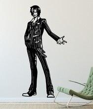 أنيمي قطعة واحدة الجدار ملصق ، سانجي ، البحر مروحة ، الفينيل ديكور الجدار ملصق ، غرفة المعيشة المنزلي الصبي غرفة ديكور ، HZW06