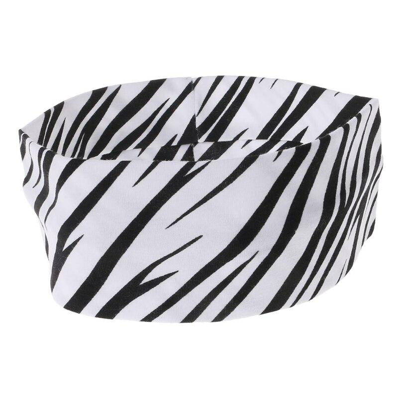 ①  Спортивная резинка для волос Эластичная широкая полоска зебры Йога Упражнение для женщин Повязка на  ★