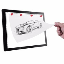 A4 LED light Drawing Board Magnet Digital Tablet Table light Pad Copy Sketch Blank Canvas for Painting Acrylic Watercolor Tracer