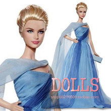 FREESHIPPING  Fashion Girl dolls GRACE KELLY To Catch a Thief  Princess DOLL  Christmas gift suit girl