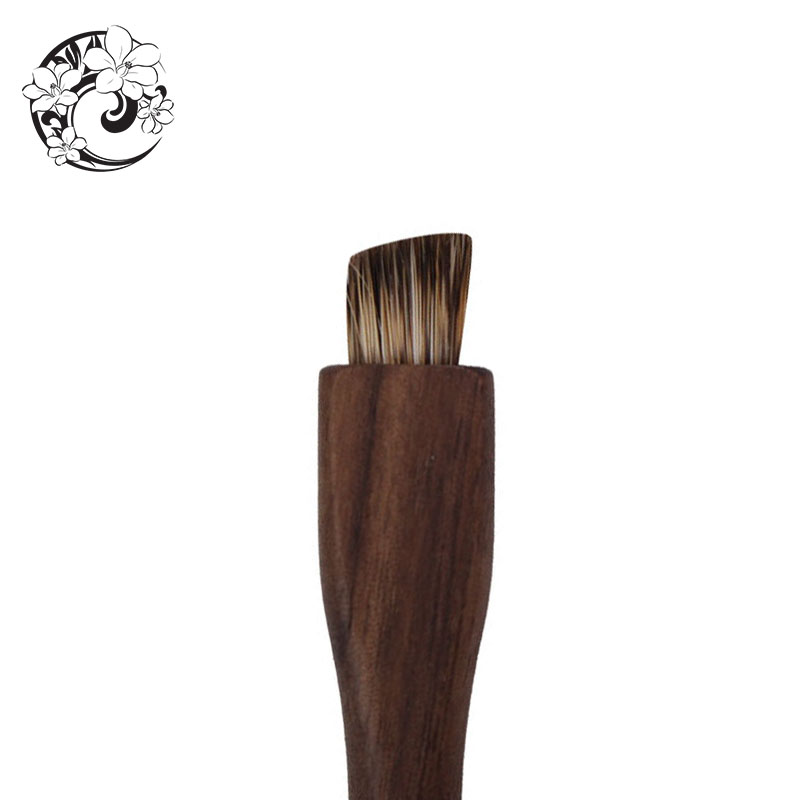 ENERGY Brand Badger Hair Eye S Walnut Brush Make Up Makeup Brushes Pinceaux Maquillage Brochas Maquillaje Pincel htm4 in Eye Shadow Applicator from Beauty Health