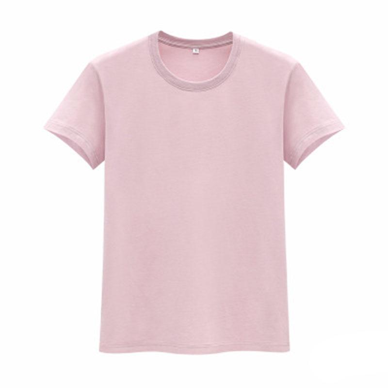 Los nuevos hombres de Camiseta de algodón en el verano de 2019 la ropa de los hombres en blanco de los hombres Camiseta de manga corta