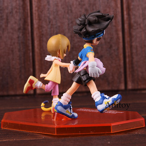 Image 4 - อัญมณีผจญภัยDigimon MonsterดิจิตอลTaichi Yagami Koromon Hikari Yagami Nyaromon PVC Action Figureของเล่นสะสม
