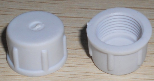 plastic end cap for the 13.5mm white waterproof pigtail