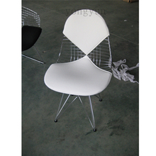 Pads Cushion for bikini Wire Chair seat Pads, Wire Chair Cushion,dining Chair Pad PU material-only the PAD, no chair(China)