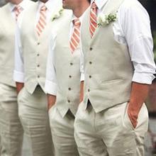 Men Suit Vests For Wedding Groomsmen Business Vest Wear Custom Made Best