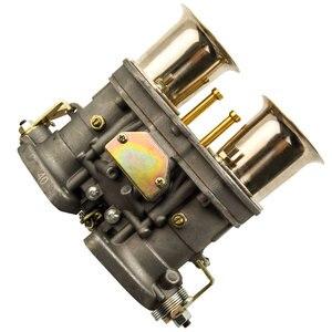 Image 3 - 2 قطعة زوج واحد 2 برميل 40IDF Carburettor الهواء القرن لشركة فولكس فاجن علة 40 IDF المكربن Carb