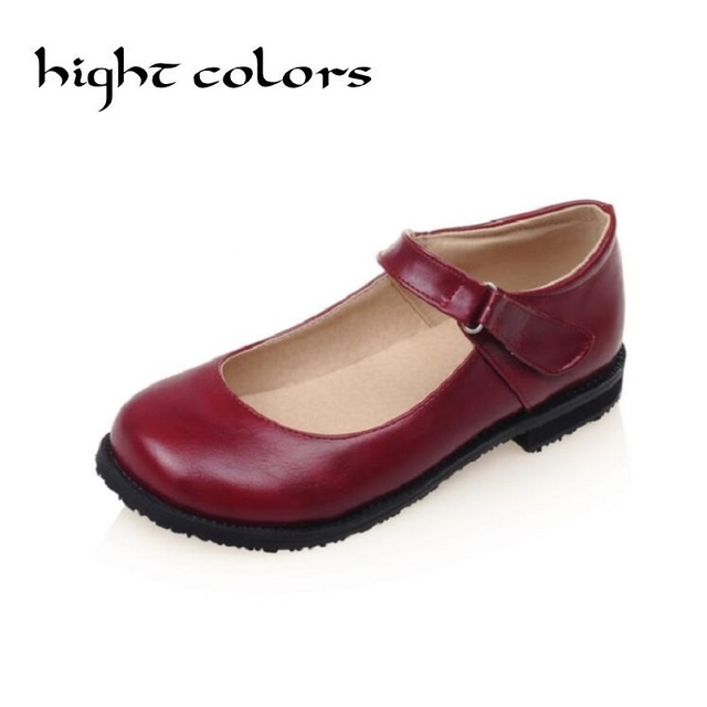 6bb9f6d45f35 Fashion New Sweet Womens Round Toe Casual Flats Buckle Mary Jane Girls  Ballet Flats Shoes For