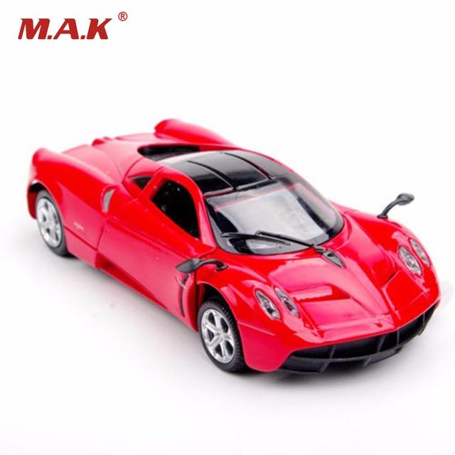 1:32 collection car models red pagani zonda vegicle car alloy