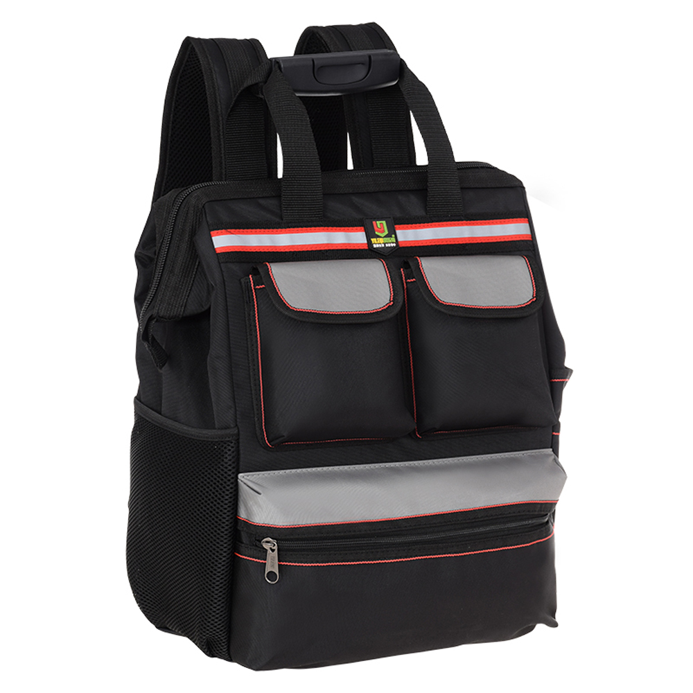 Multifunctional Oxford Cloth Double Shoulders Tool Bag Storage Backpack Bags for Construction Elevator Exploration Worker