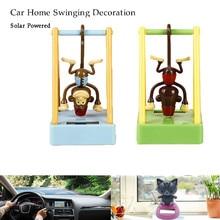 Очаровательные милые новые солнечные танцы животных обезьяна качающиеся анимированные поплавок Танцующая игрушка украшение автомобиля подарок 3,0