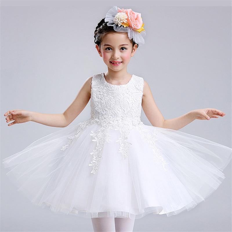 0-24 Μήνες Baby κορίτσια λευκό φόρεμα - Παιδικά ενδύματα - Φωτογραφία 6