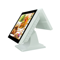 15 inch Financial equipment cash pos terminal,cash register with nfc reader